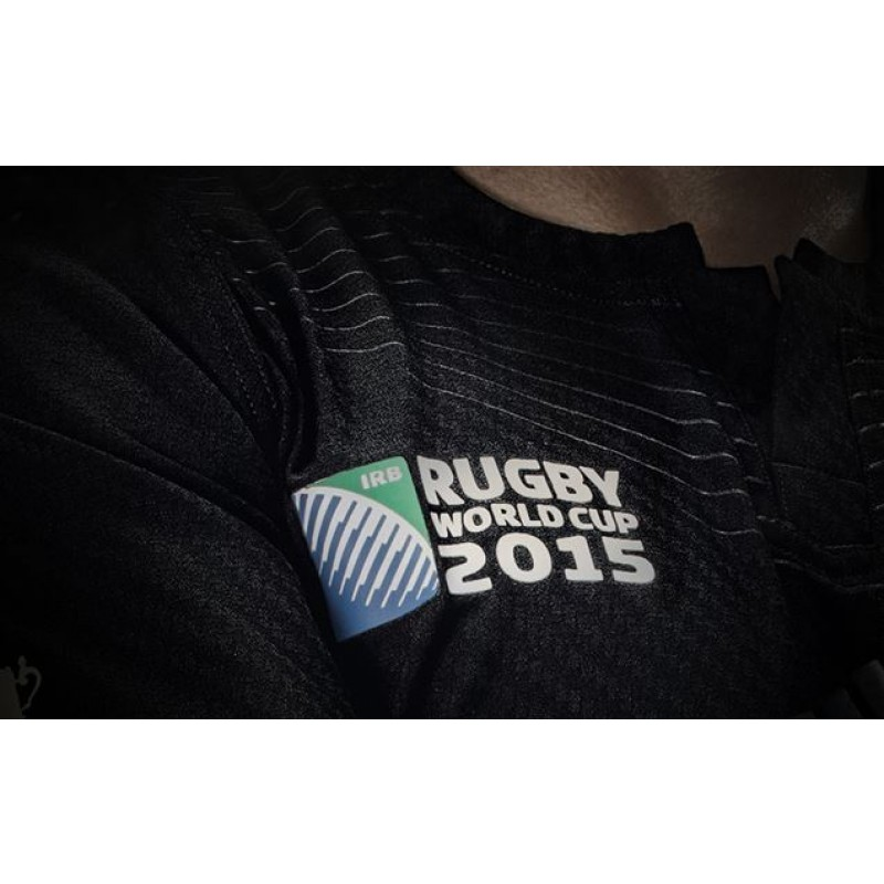 sports shoes 4980e 51002 RUGBY WORLD CUP 2015 ALL BLACKS REPLICA HOME JERSEY