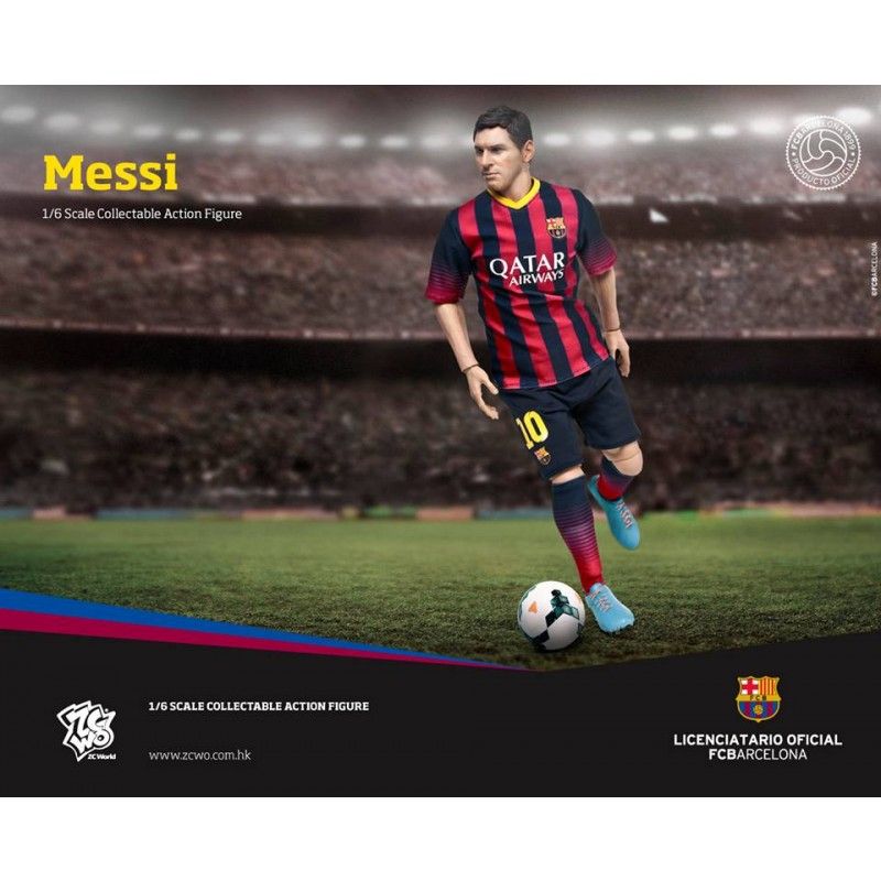 Lionel Messi F.C Barcelona Soccer Team Collectible Figurine