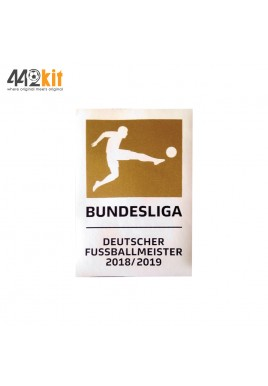 Official DEKOGRAPHICS Bundesliga Champions 2018-19 FC Bayern Patch