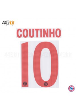 Official COUTINHO #10 FC Bayern Munich 3rd 2019-20 PU PRINT