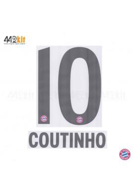 Official COUTINHO #10 FC Bayern Munich Away 2019-20 PU PRINT
