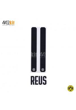 Official REUS #11 Borussia Dortmund Home 2019-20 PU PRINT