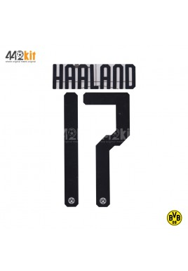 Official HAALAND #17 Borussia Dortmund Home 2019-20 PU PRINT
