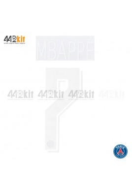 Official MBAPPE #7 PSG Home UCL 2019-20 PRINT