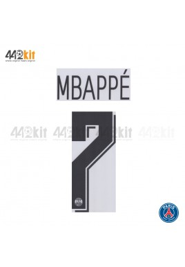 Official MBAPPE #7 PSG Away UCL 2019-20 PRINT
