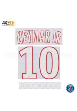 Official NEYMAR JR #10 + OOREDOO PSG Home Ligue 1 2019-20 PRINT