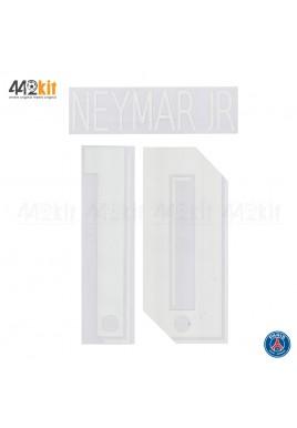 Official NEYMAR JR #10 PSG Home UCL 2019-20 PRINT