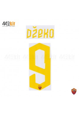 Official DZEKO #9 AS ROMA 3rd 2019-2020 PRINT