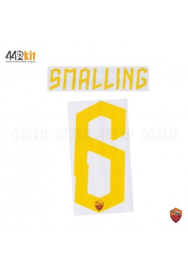 Official SMALLING #6 AS ROMA 3rd 2019-2020 PRINT