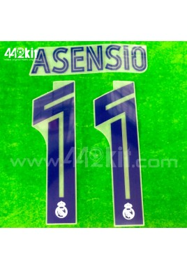 Official ASENSIO #11 Real Madrid CF Home 2020-21 PRINT