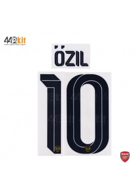 Official OZIL #10 Arsenal FC Away CUP 2019-20 PRINT