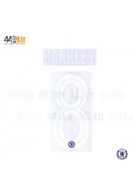 OFFICIAL BARKLEY #8 Chelsea Home CUP UCL 2019-20 PRINT