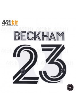 OFFICIAL BECKHAM #23 INTER MIAMI FC HOME 2020-21 PRINT