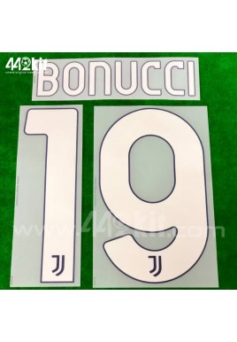 Official BONUCCI #19 Juventus FC Away 2020-21 PRINT