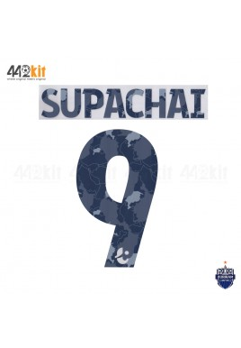 Official PLAYER ISSUE SUPACHAI #9 BURIRAM UNITED AWAY 2020 THAI LEAGUE 1 PRINT