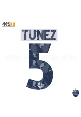Official PLAYER ISSUE TUNEZ #5 BURIRAM UNITED AWAY 2020 THAI LEAGUE 1 PRINT