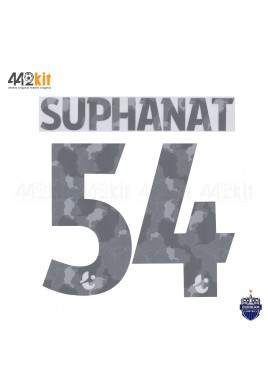 Official PLAYER ISSUE SUPHANAT #54 BURIRAM UNITED 3rd 2020 THAI LEAGUE 1 PRINT