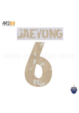 Official PLAYER ISSUE JAE YONG #6 BURIRAM UNITED Home 2020 THAI LEAGUE 1 PRINT