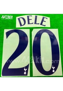 OFFICIAL DELE #20 Tottenham Hotspurs Home CUP EUROPA 2020-21 PRINT