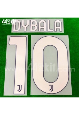 Official DYBALA #10 Juventus FC Away 2020-21 PRINT