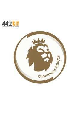 Official English Premier League CHAMPIONS 2018-19 PLAYER SIZE MAN CITY Patch