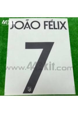 OFFICIAL JOAO FELIX #7 Atletico de Madrid 3rd UCL 2020-21 PRINT