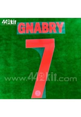 Official GNABRY #7 FC Bayern Munich Away 2020-21 PU PRINT