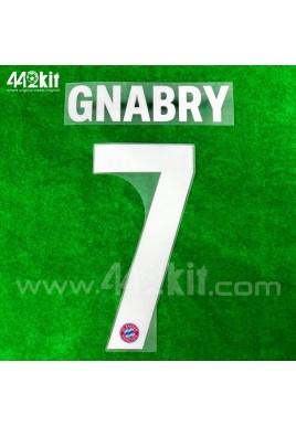 Official GNABRY #7 FC Bayern Munich Home 2020-21 PU PRINT