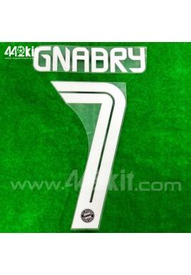 Official GNABRY #7 FC Bayern Munich 3rd 2020-21 PU PRINT