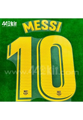 OFFICIAL PLAYER ISSUE MESSI #10 FC Barcelona Home 2020-21 PRINT