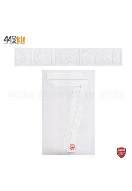 Official MKHITARYAN #7 Arsenal FC Home CUP 2019-20 PRINT