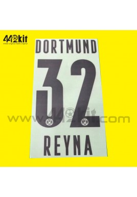 Official REYNA #32 Borussia Dortmund BVB Home 2020-21 PU PRINT
