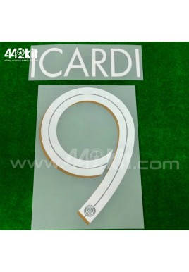 Official ICARDI #9 PSG 3rd UCL 2020-21 PRINT