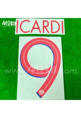Official ICARDI #9 PSG Away UCL 2020-21 PRINT