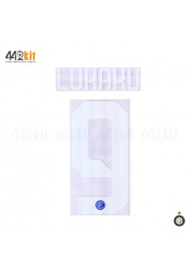 Official LUKAKU #9 Inter Milan Home 2019-2020 PRINT