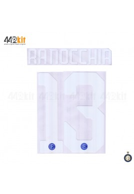 Official RANOCCHIA #13 Inter Milan Home 2019-2020 PRINT