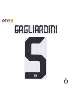 Official GAGLIARDINI #5 Inter Milan Away 2019-2020 PRINT