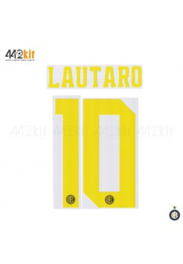 Official LAUTARO #10 Inter Milan 3rd 2019-2020 PRINT