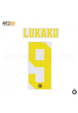 Official LUKAKU #9 Inter Milan 3rd 2019-2020 PRINT