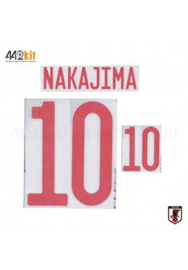 Official NAKAJIMA #10 JAPAN JFA Home 2020-21 PRINT