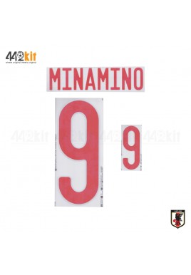 Official MINAMINO #9 JAPAN JFA Home 2020-21 PRINT