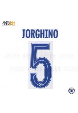 OFFICIAL JORGINHO #5 Chelsea Away CUP UCL 2019-20 PRINT