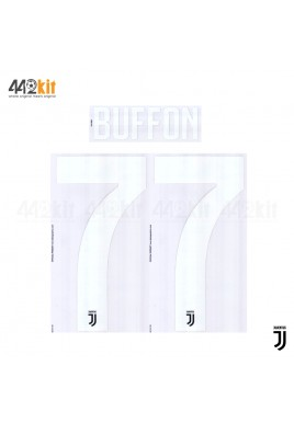 Official BUFFON #77 Juventus FC Home 2019-2020 PRINT