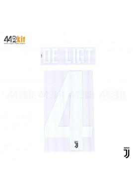 Official DE LIGT #4 Juventus FC Home 2019-2020 PRINT