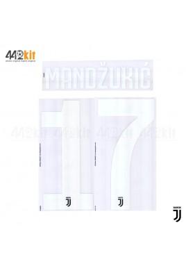 Official MANDZUKIC #17 Juventus FC Home 2019-2020 PRINT
