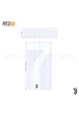 Official RONALDO #7 Juventus FC Home 2019-2020 PRINT