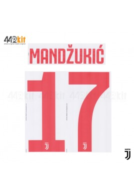 Official MANDZUKIC' #17 Juventus FC Away 2019-2020 PRINT