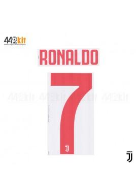 Official RONALDO #7 Juventus FC Away 2019-2020 PRINT
