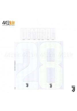 Official DEMIRAL #28 Juventus FC Home 2019-2020 PRINT