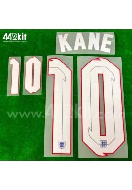 Official KANE #10 England Away 2020-21 PRINT